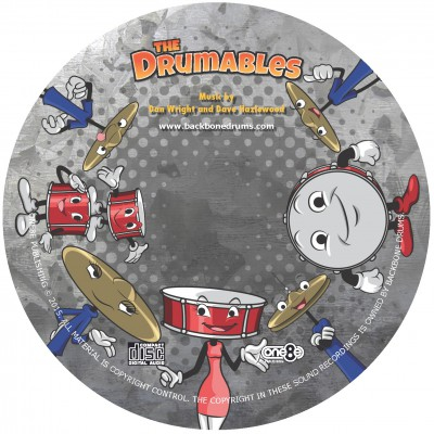 Drumables CD Face